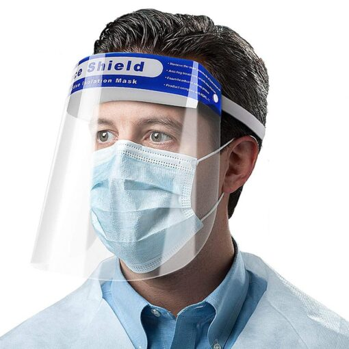 FACE SHIELD ADULT DISPOSABLE