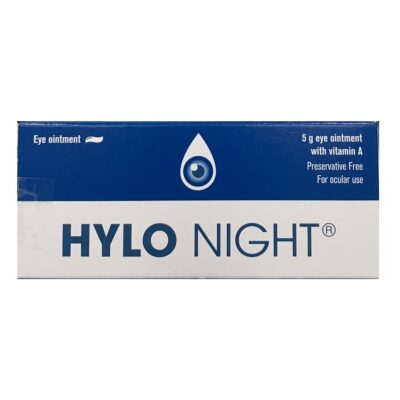 HYLO NIGHT EYE OINTMENT WITH VITAMIN A (5G)