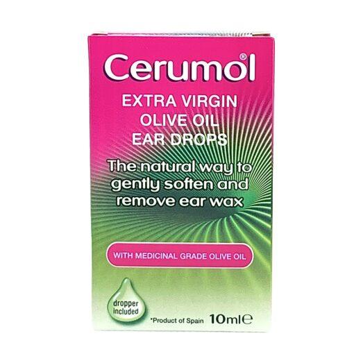 CERUMOL OLIVE OIL EAR DROPS (10ML)
