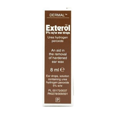 EXTEROL 5% EAR DROPS (8ML)