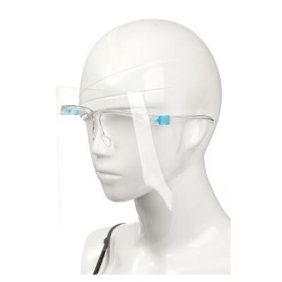 FACE SHIELD WITH GLASSES FRAME (1)