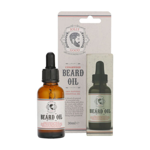 THE JOLLY GOOD GROOMING CO. CEDARWOOD BEARD OIL (30ML)