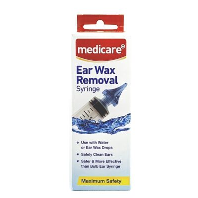 MEDICARE EAR WAX REMOVAL SYRINGE