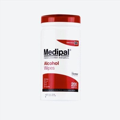 MEDIPAL ALCOHOL DISINFECTANT WIPES (200)