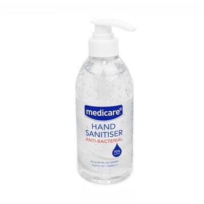 MEDICARE HAND SANITISER (500ML)
