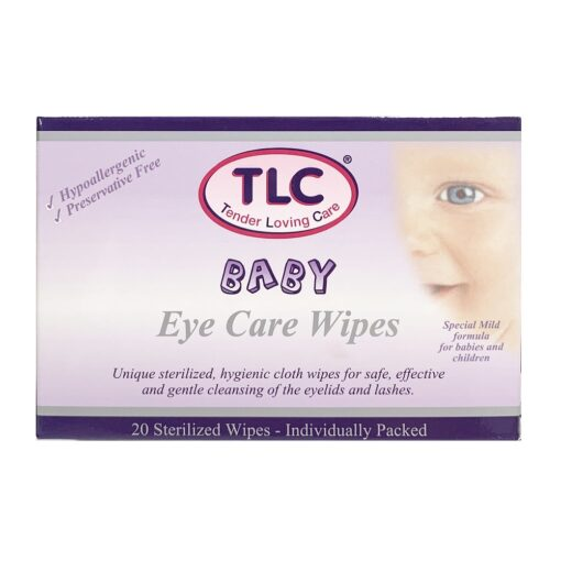TLC BABY EYE CARE WIPES (20)