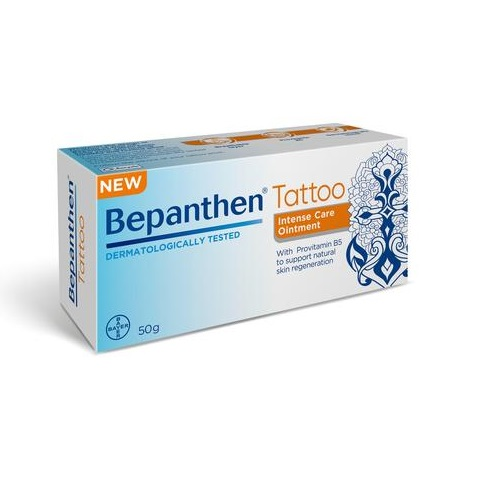 BEPANTHEN INTENSIVE CARE TATTOO OINTMENT (50G)