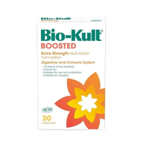 BIO-KULT BOOSTED EXTRA STRENGTH PROBIOTIC CAPS (30)