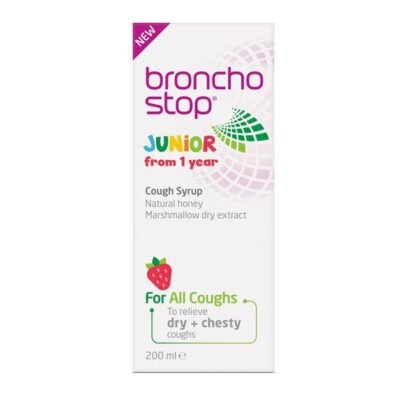 BRONCHOSTOP JUNIOR COUGH SYRUP (200ML)