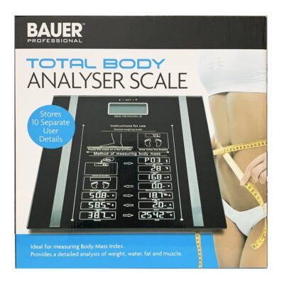 BAUER TOTAL BODY ANALYSER SCALE
