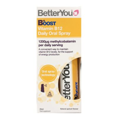 BETTER YOU BOOST B12 ORAL SPRAY (25ML)