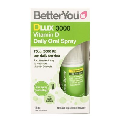 BETTER YOU DLUX 3000 VITAMIN D ORAL SPRAY (15ML)