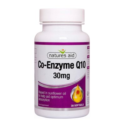 NATURES AID CO-ENZYME Q10 30MG (30)