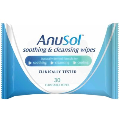 ANUSOL SOOTHING AND CLEANSING WIPES (30)