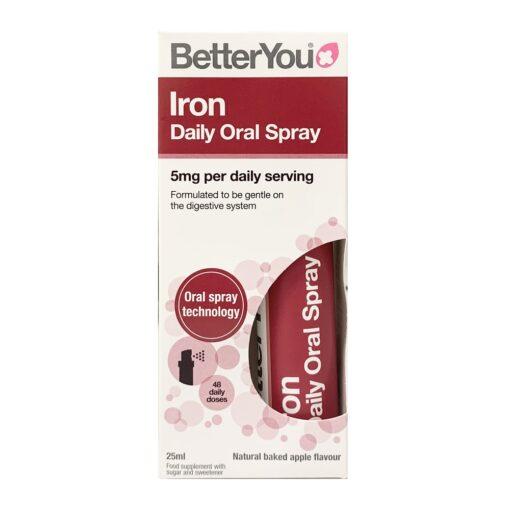 BETTER YOU IRON ORAL SPRAY (25ML)