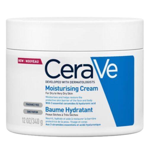 CERAVE MOISTURISING CREAM (340G)