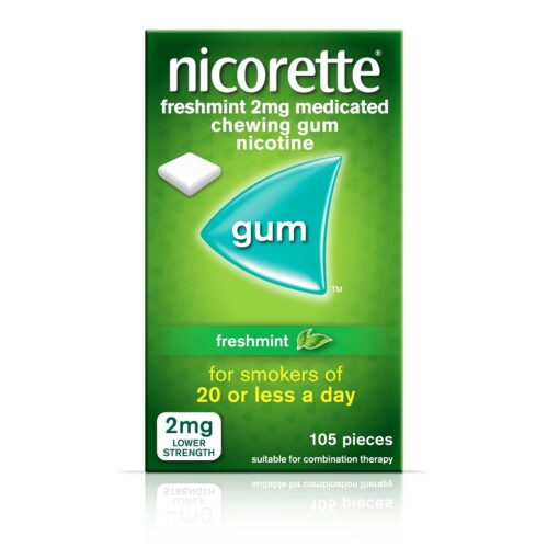 NICORETTE GUM FRESHMINT 2MG (105)