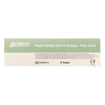 COVID-19 Rapid Antigen Test - Boson (5 Tests)
